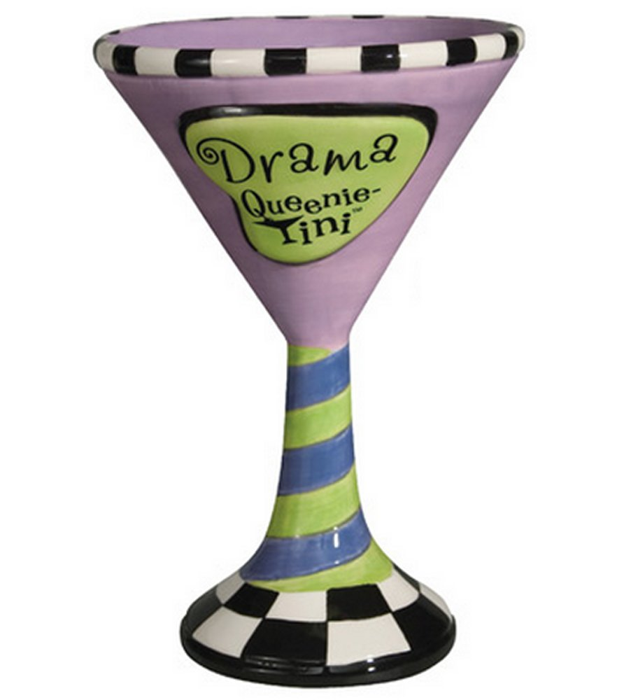 Queenie tinis Drama Martini Glass