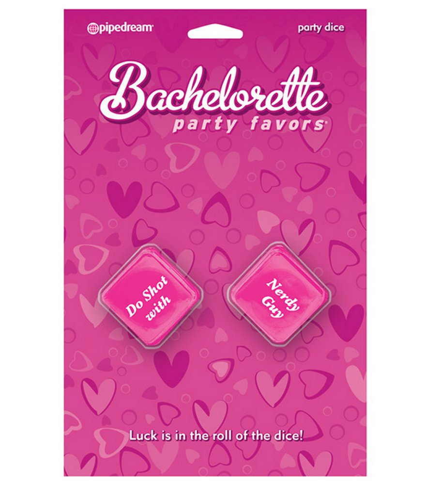 Bachelorette Party Favors Pink Party Dice