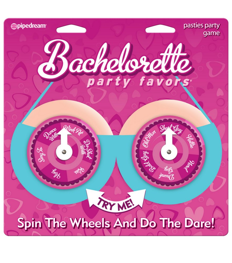 Bachelorette Party Favors Pasties Party Spinners