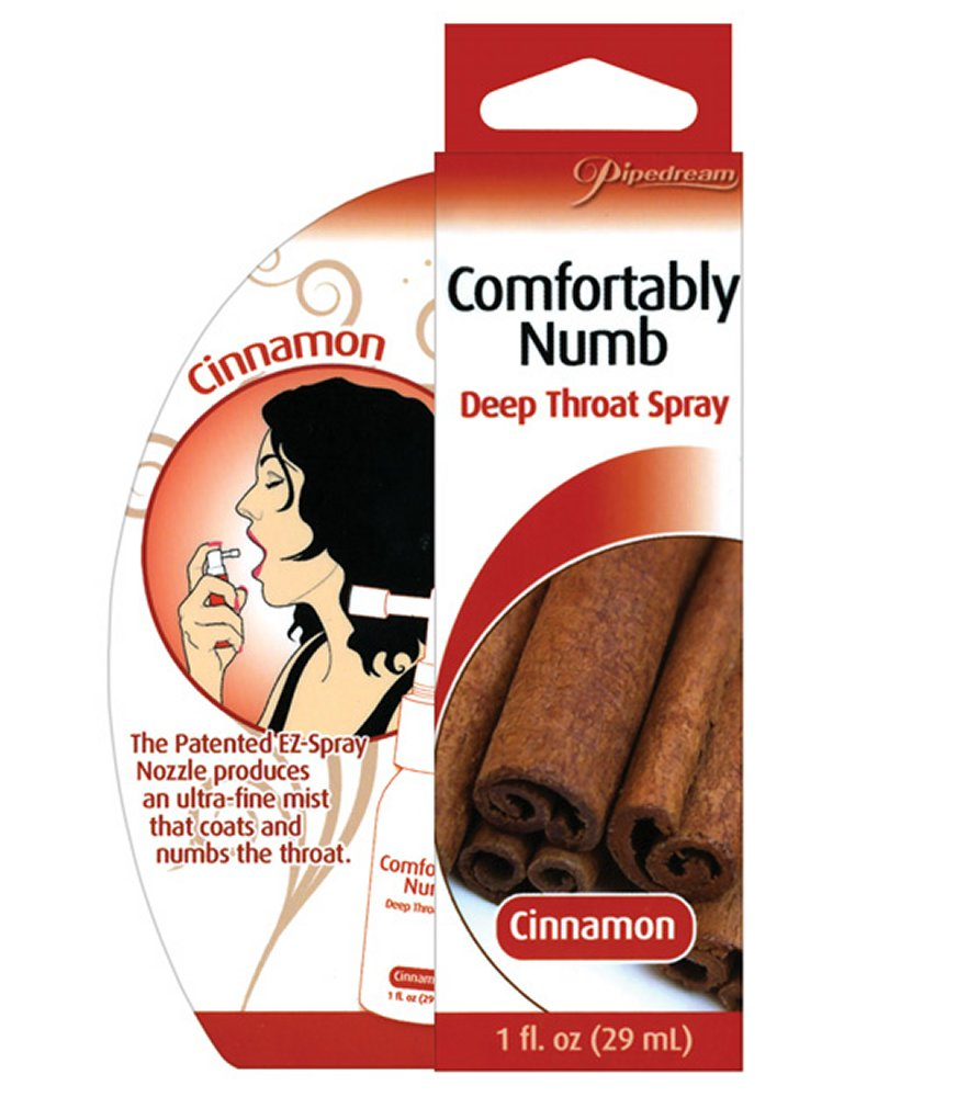 Comfortably Numb Cinnamon Deep Throat Spray