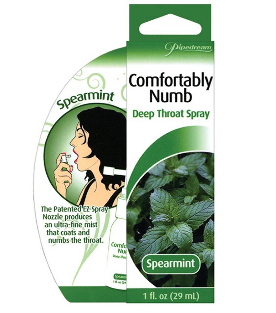 Comfortably Numb Spearmint Deep Throat Spray