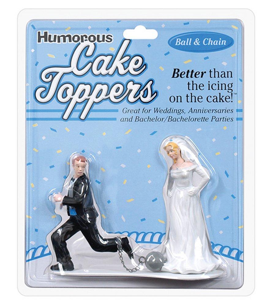 Ball & Chain Cake Topper