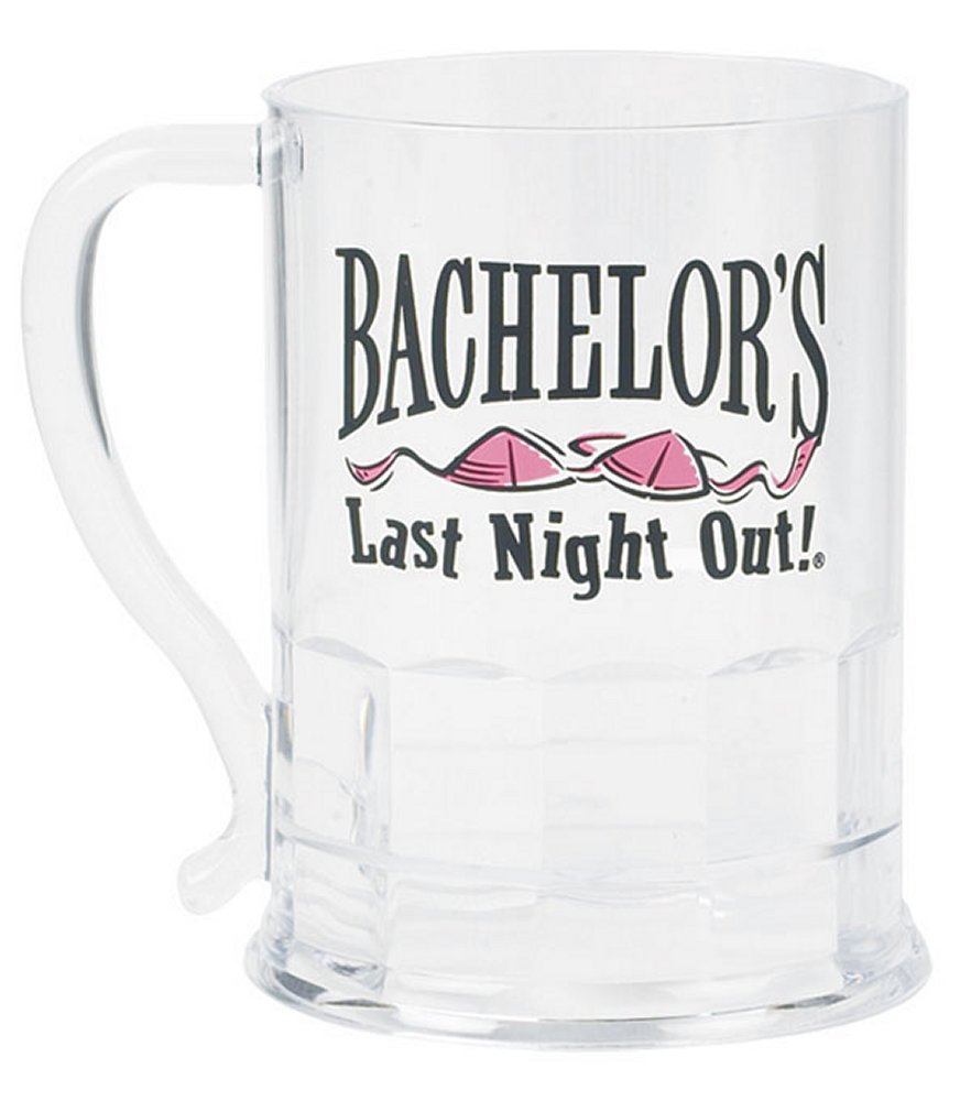Bachelor's Last Night Out Acrylic Beer Mug