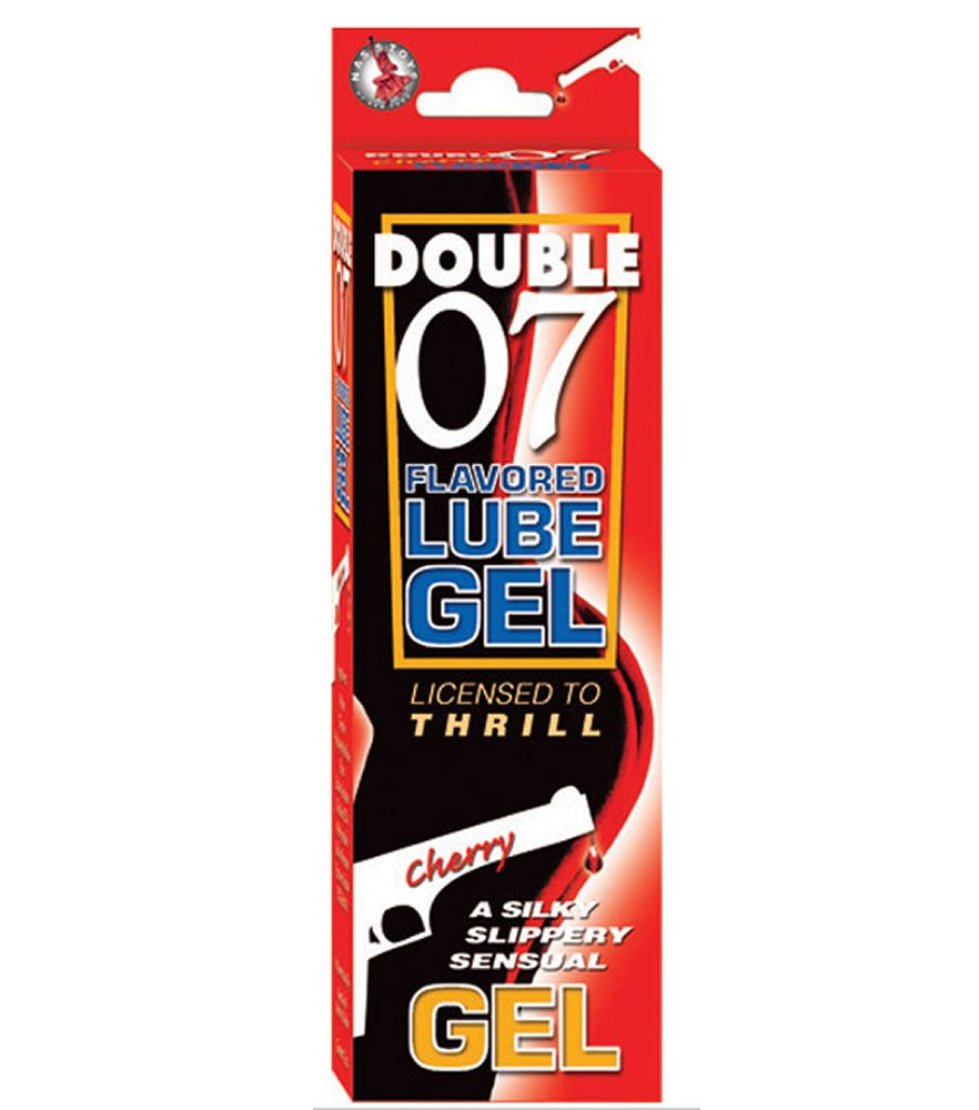 Double 07 Cherry Flavored Lube Gel