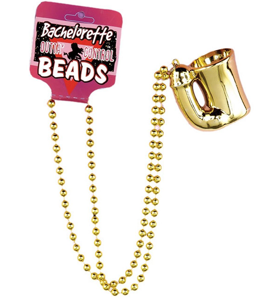 Bachelorette Penis Shot Glass Beads