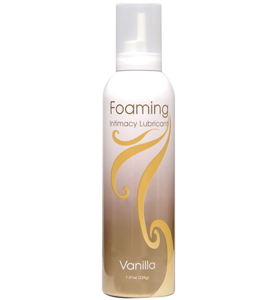 Foaming Mousse Vanilla Flavored Lubricant
