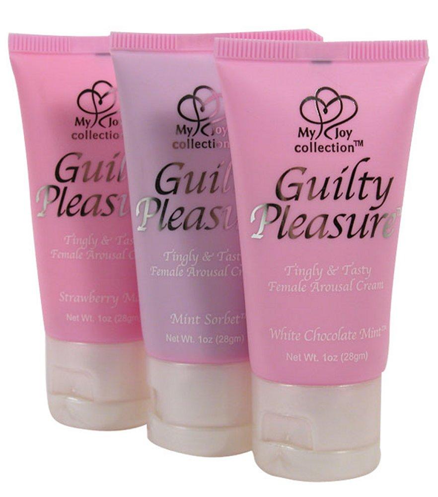 Guilty Pleasure Mint Sorbet Flavored Arousal Cream