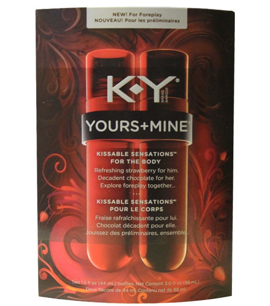 KY Yours and Mine Kissable Sensations