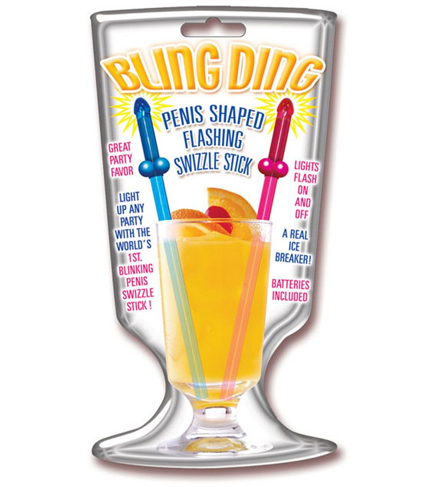 Bling Ding Swizzle Sticks