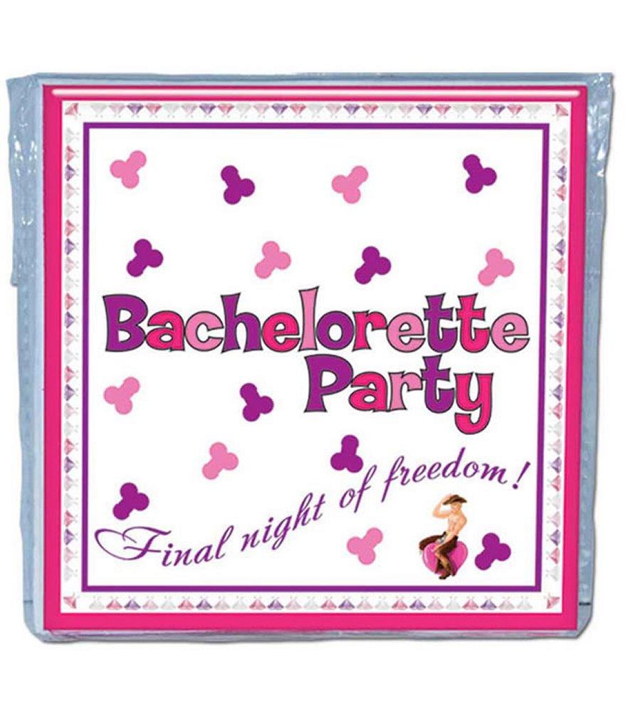 Bachelorette Trivia Game Napkins