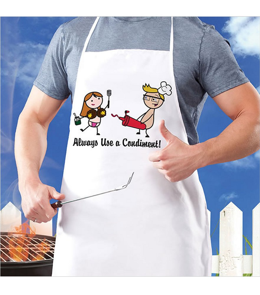 Nutz Always Use a Condiment Apron