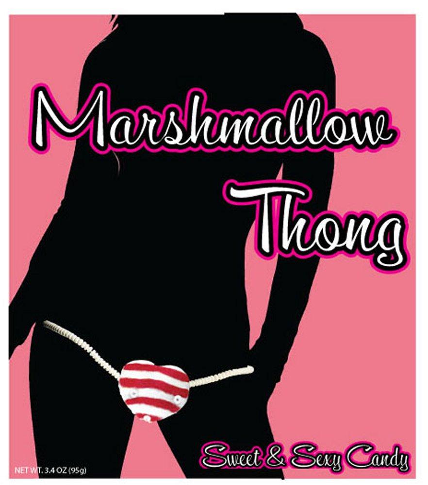 Marshmallow Thong