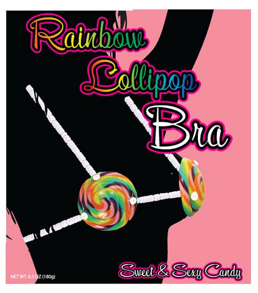 Rainbow Lollipop Bra