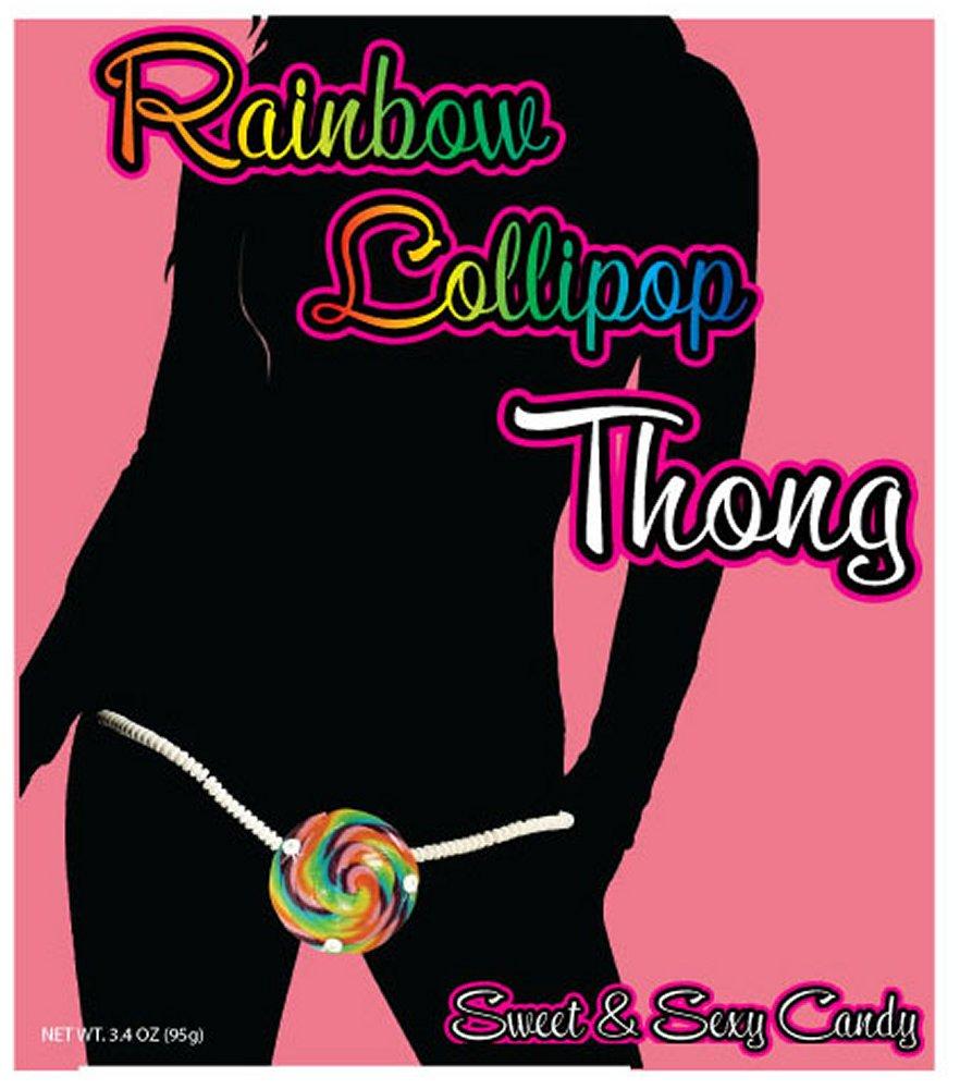 Rainbow Lollipop Thong