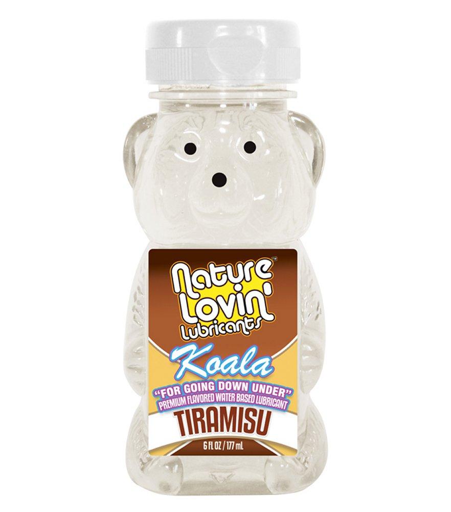Koala Tiramisu Flavored Lube 6 oz