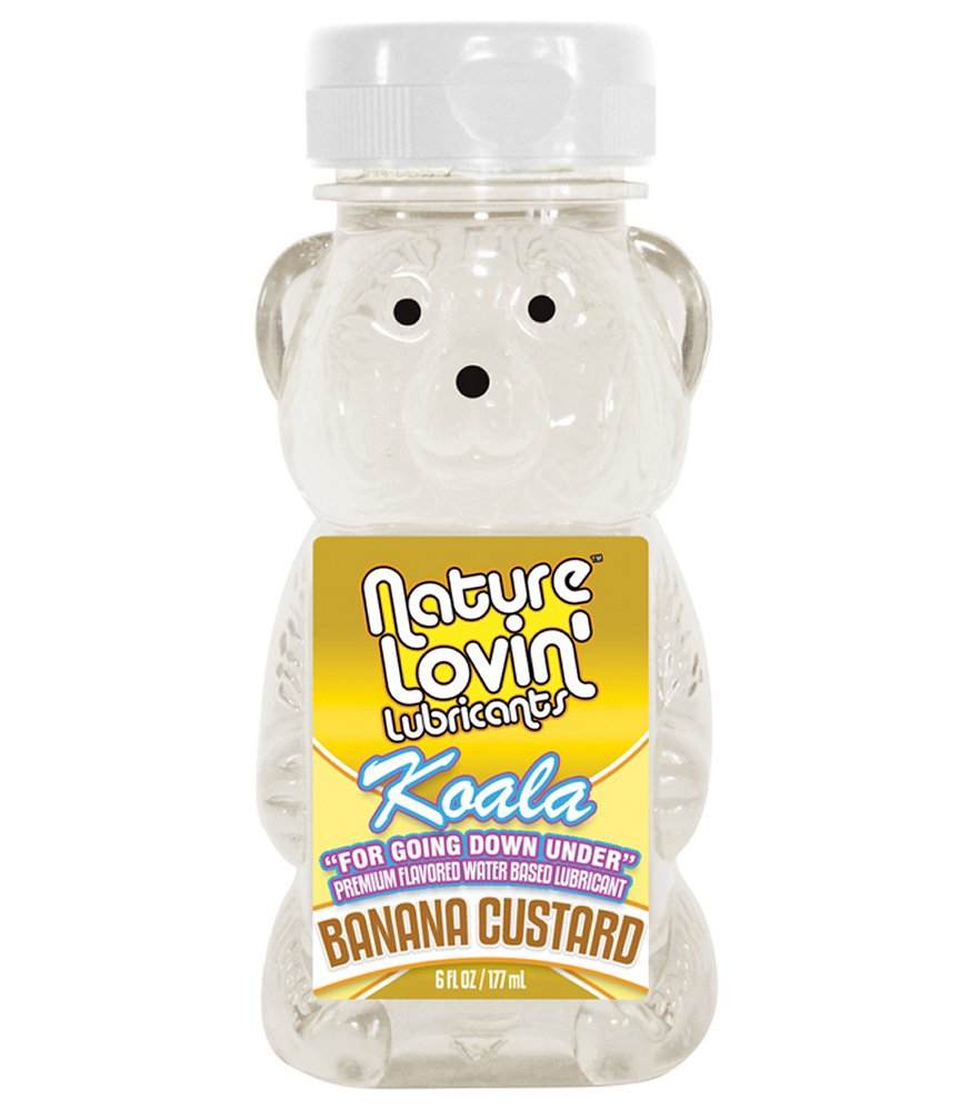 Koala Banana Custard Lube 6 oz