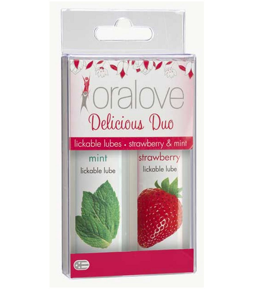 Oralove Delicious Duo Strawberry and Mint