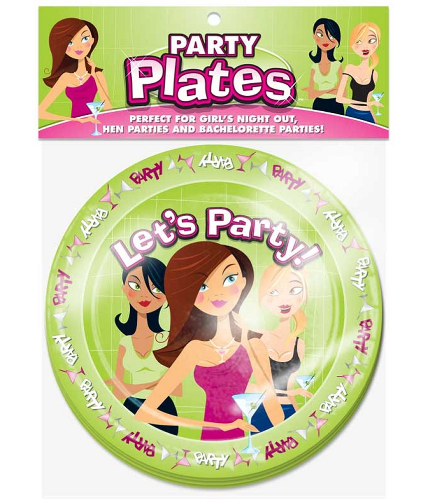 Let's Party Plates