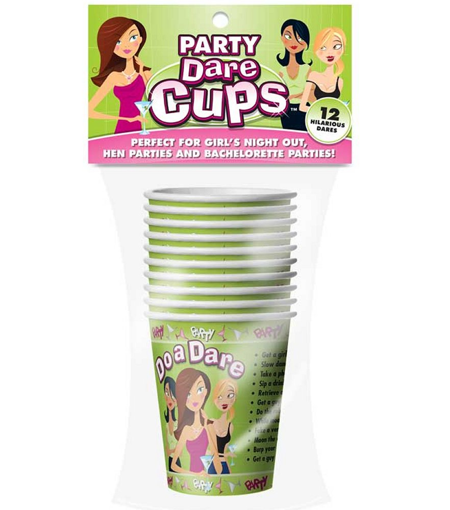 Let's Party Dare Cups