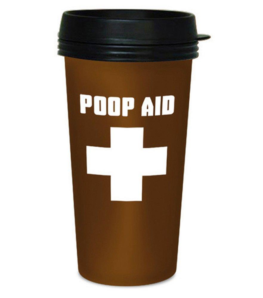 Poop Aid Travel Mug