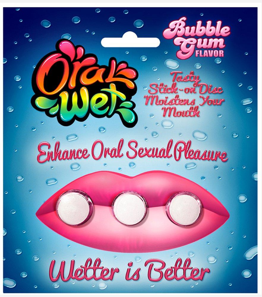 Oral Wet Bubble Gum