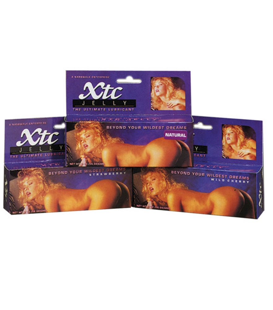 XTC Strawberry Flavored Jelly Lubricant