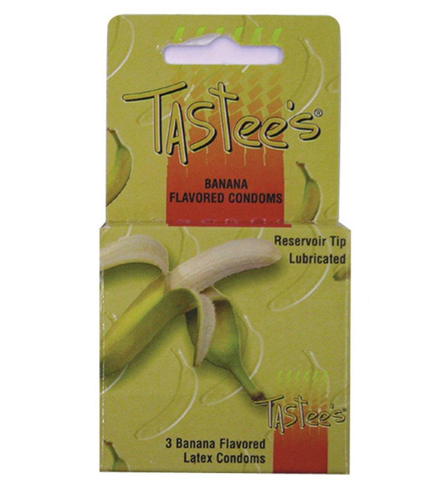 Tastee's Banana Flavored Condoms