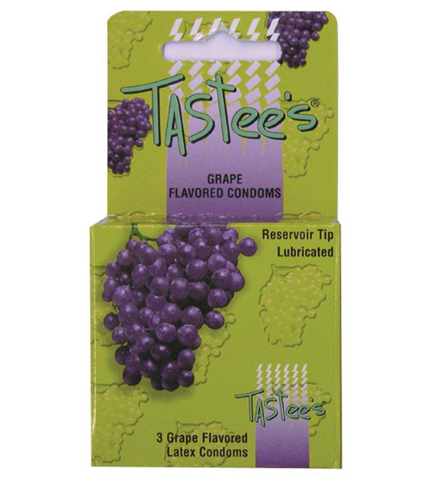 Tastee's Grape Flavored Condoms