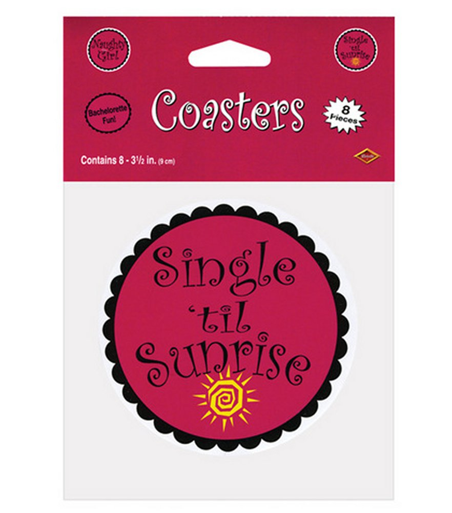 Single Til Sunrise Coasters