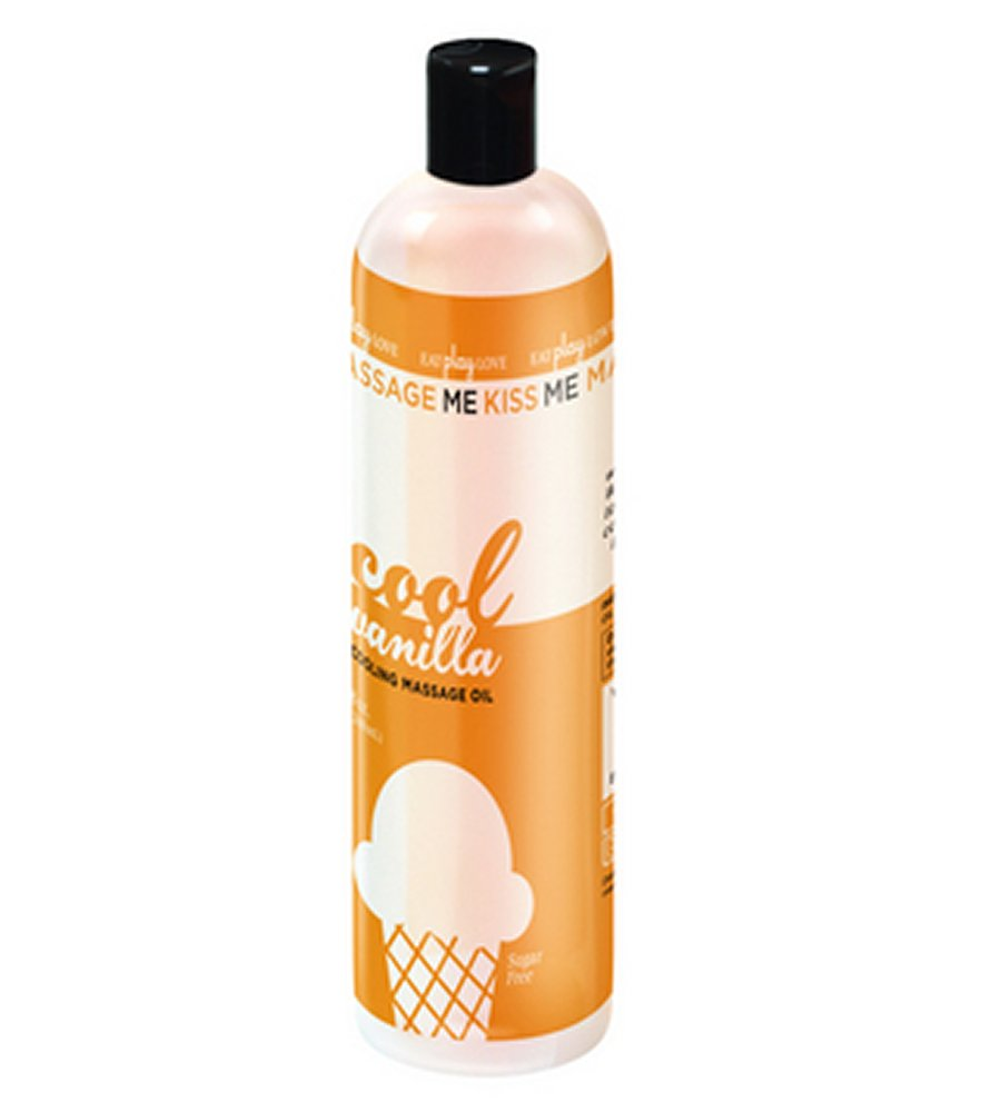 Kiss Me Edible Cooling Oil Vanilla