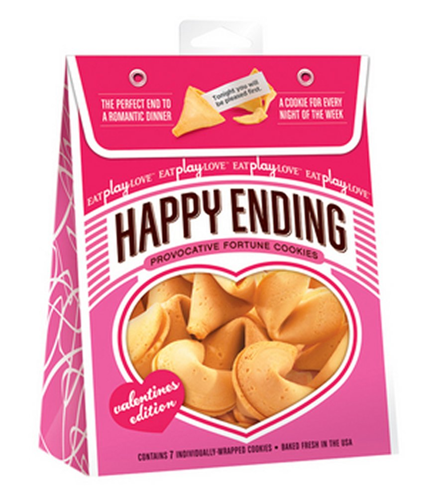 Happy Ending Fortune Cookies Valentine's Edition