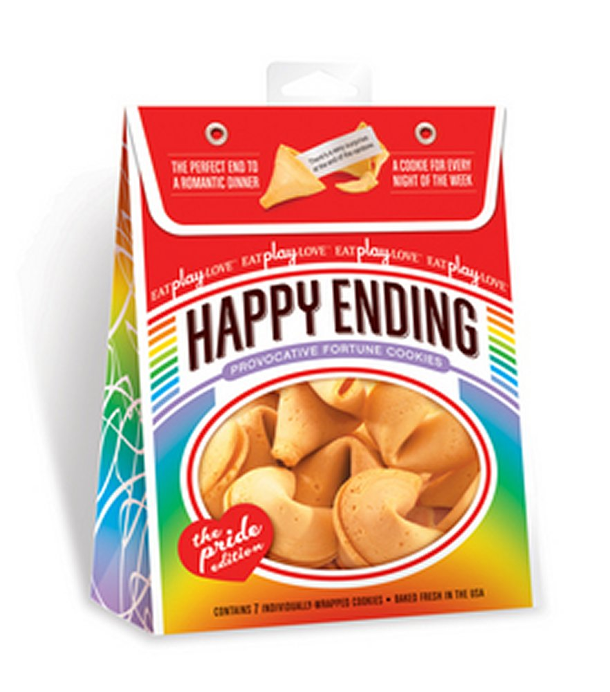 Happy Ending Fortune Cookies Pride Edition