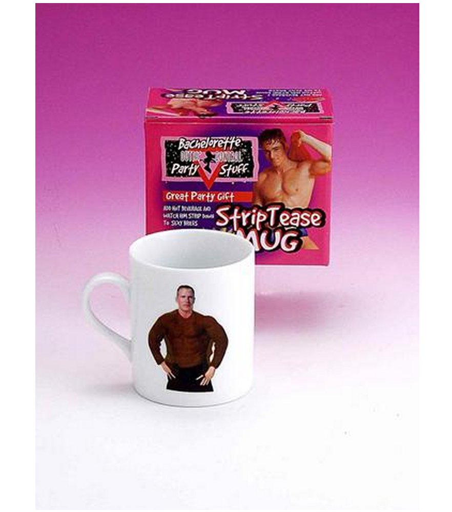 Bachelorette Strip Tease Mug