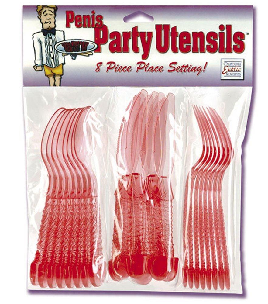 Penis Party Utensils